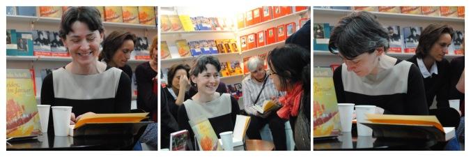 Ursula Ackrill auf der Buchmesse