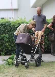Heinz Helle + Familie