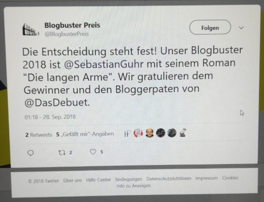 Nachricht Tweeter Blogbuster